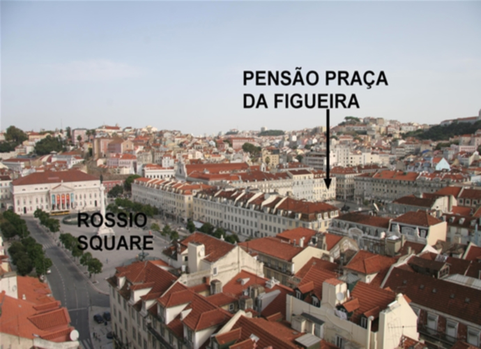 Pension Praça da Figueira - Location